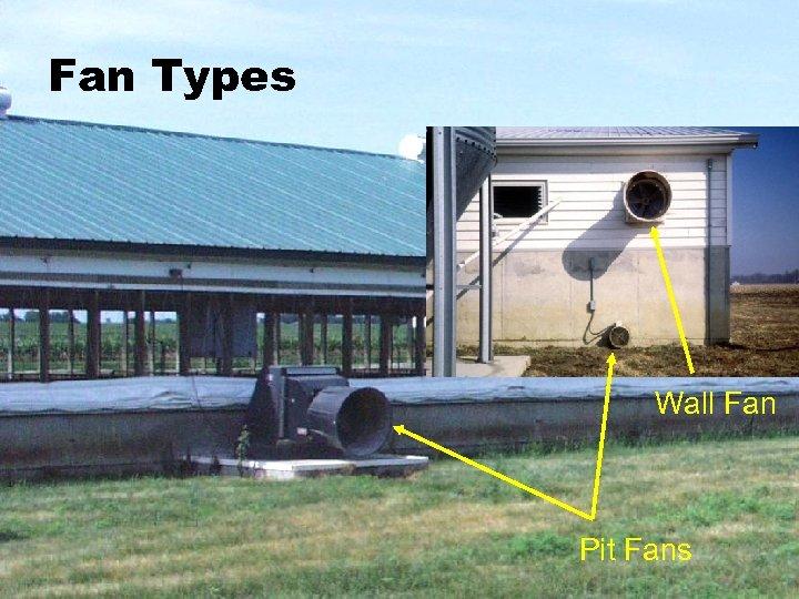 Fan Types Wall Fan Pit Fans