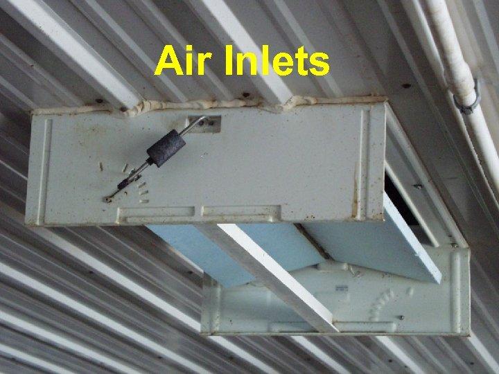 Raydot Center Air Inlets