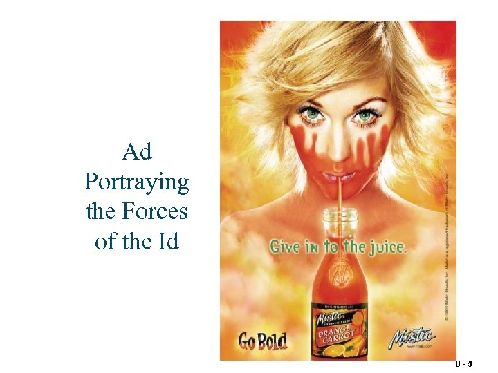 Ad Portraying the Forces of the Id 6 -5