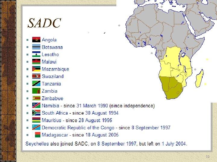 SADC 52
