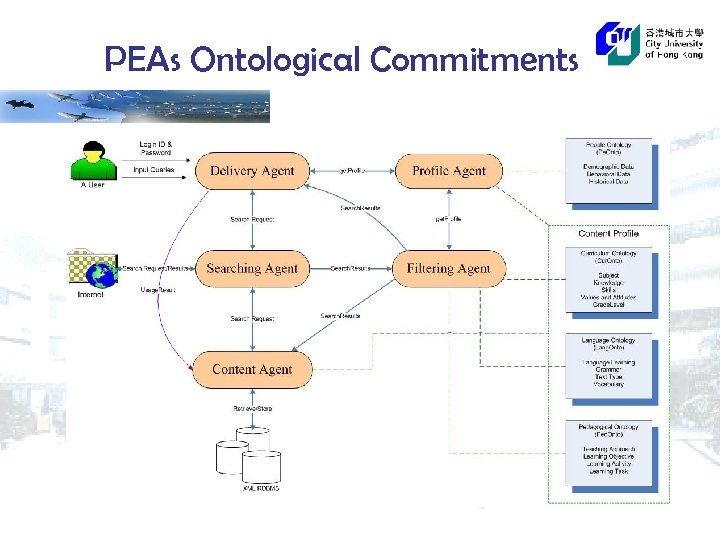 PEAs Ontological Commitments