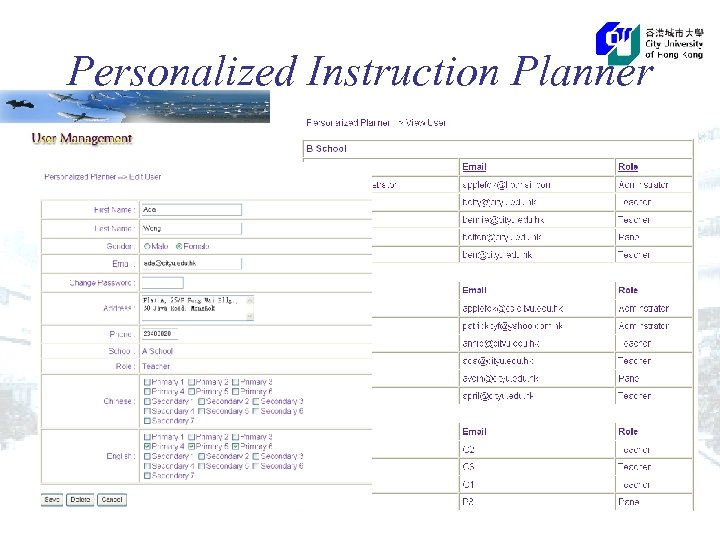 Personalized Instruction Planner