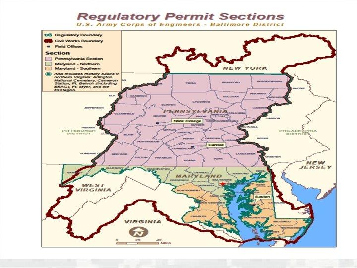 Baltimore District Regulatory Boundaries BUILDING STRONG®