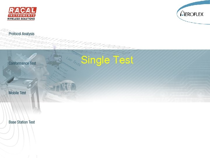 Single Test