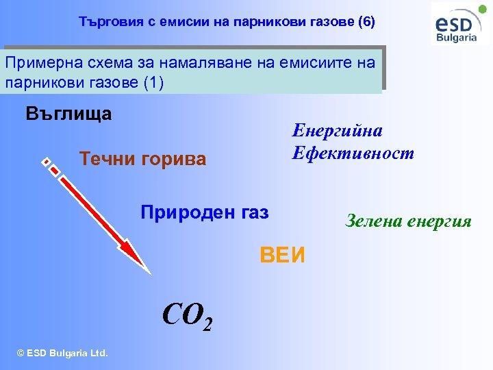 Търговия с емисии на парникови газове (6) Примерна схема за намаляване на емисиите на