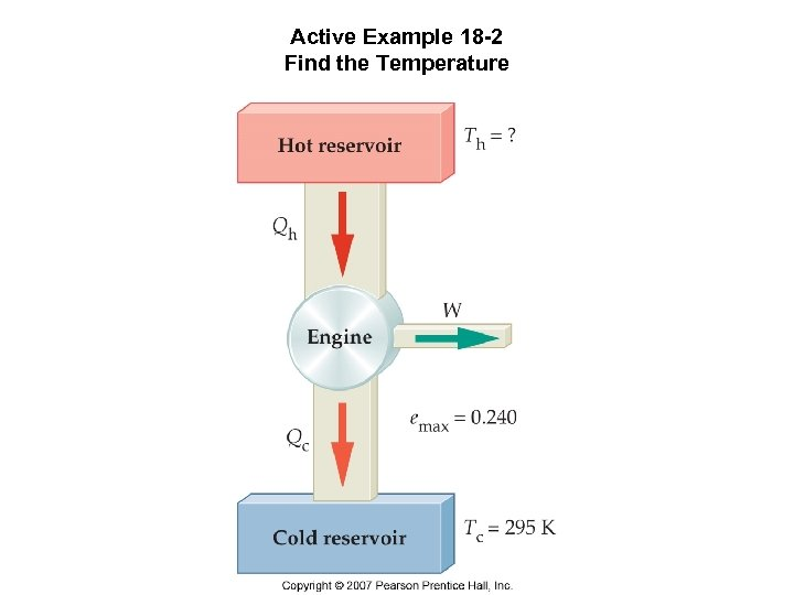 Active Example 18 -2 Find the Temperature