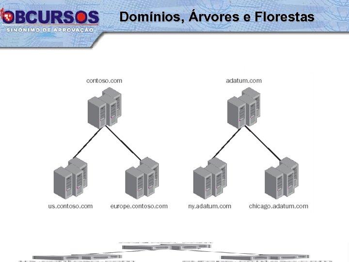 Domínios, Árvores e Florestas