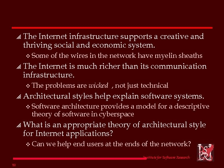 p The Internet infrastructure supports a creative and thriving social and economic system. v