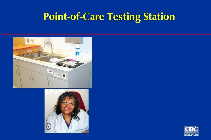 Point-of-Care Testing Station