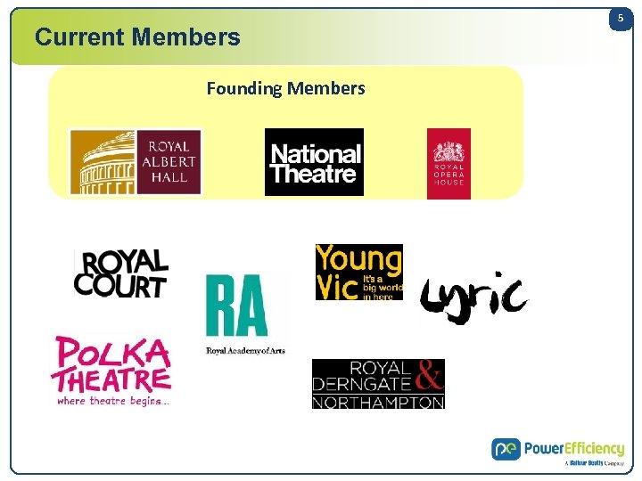 Current Members Founding Members 5