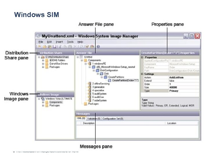 Windows SIM © The Association of Independent Schools of NSW