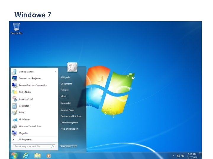 Windows 7 © The Association of Independent Schools of NSW