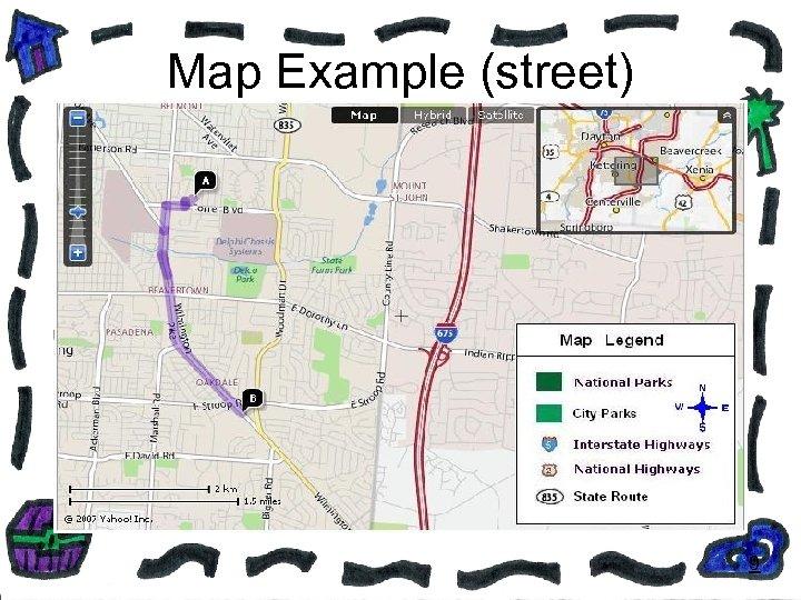 Map Example (street) 9