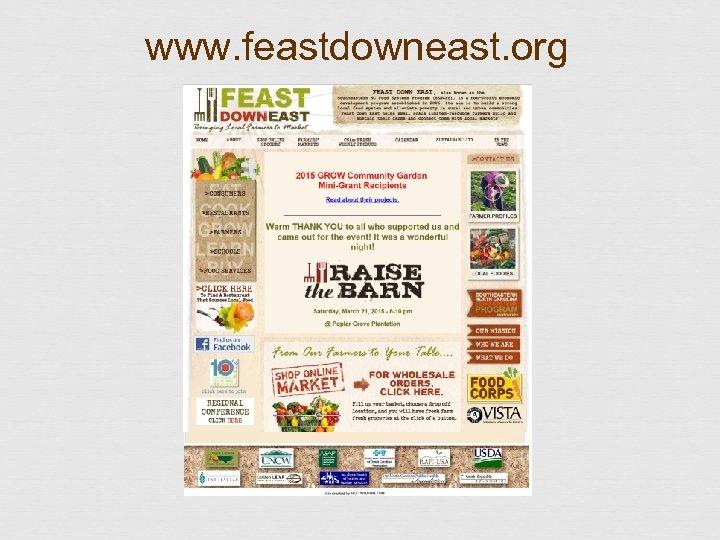 www. feastdowneast. org