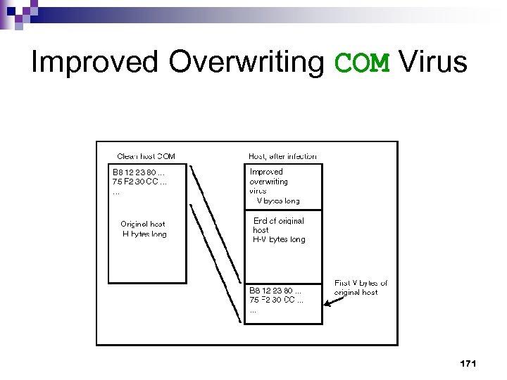 Improved Overwriting COM Virus 171