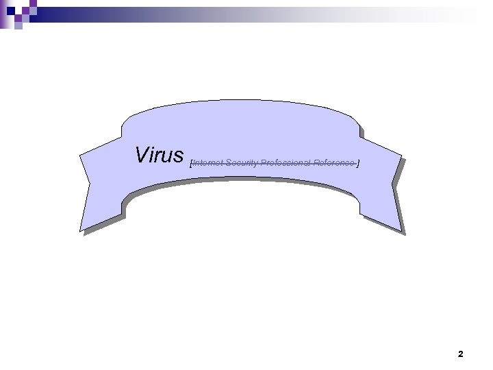Virus [Internet Security Professional Reference ] 2