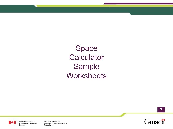 Space Calculator Sample Worksheets 21