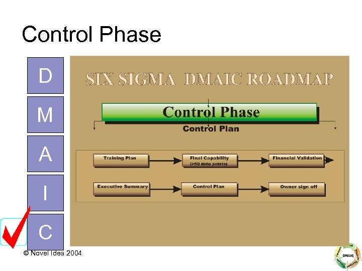 Control Phase D M A I C © Novel Idea 2004