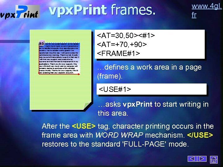 vpx. Print frames. #1 Thank you for your great support. Je me répète mais.