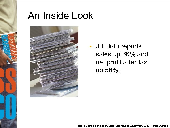 An Inside Look § JB Hi-Fi reports sales up 36% and net profit after