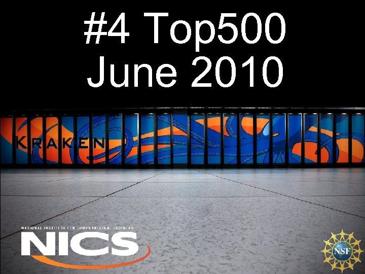#4 Top 500 June 2010