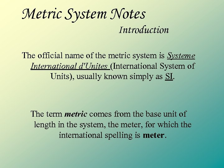 Fuck the metric system memes