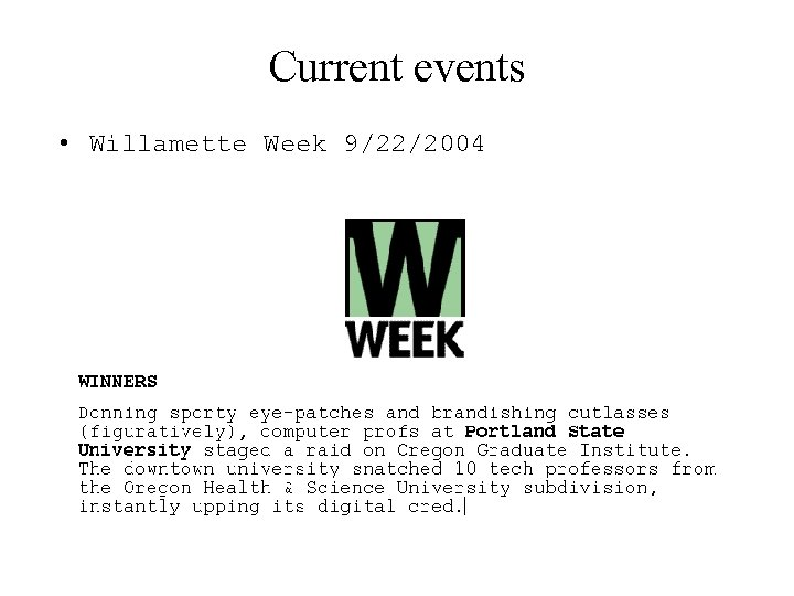 Current events • Willamette Week 9/22/2004