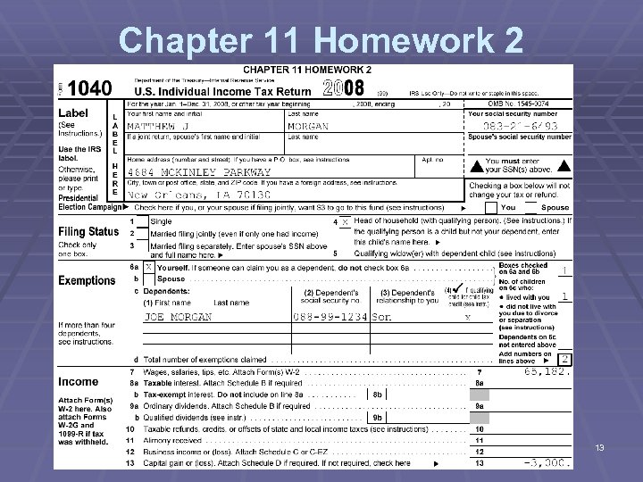 Chapter 11 Homework 2 13