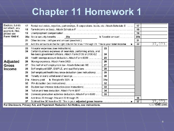 Chapter 11 Homework 1 6