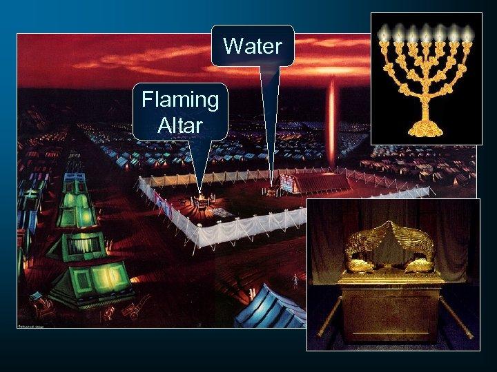 Water Flaming Altar