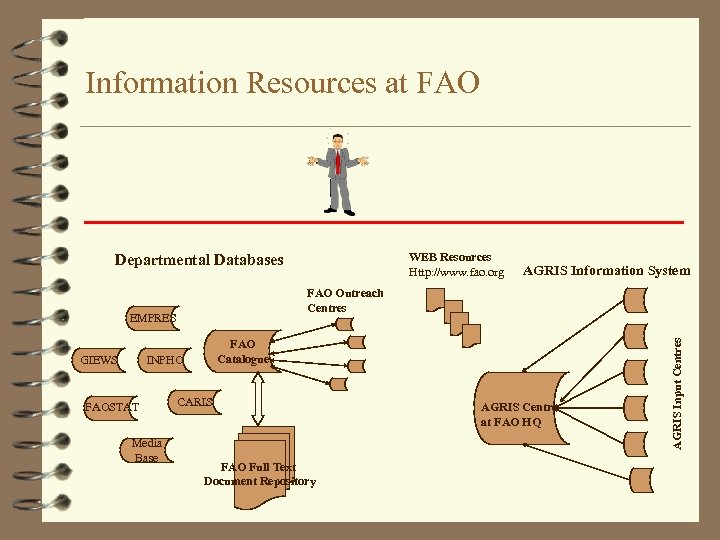 Information Resources at FAO WEB Resources Http: //www. fao. org Departmental Databases FAO Catalogue
