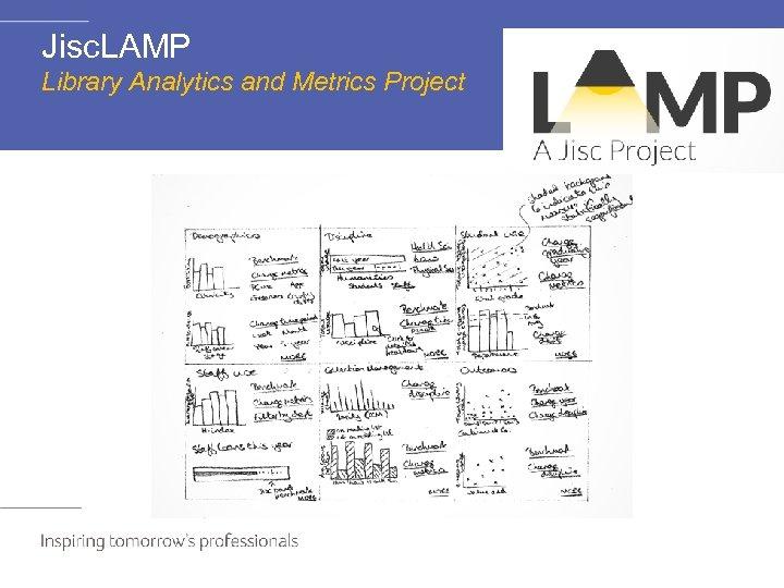 Jisc. LAMP Library Analytics and Metrics Project