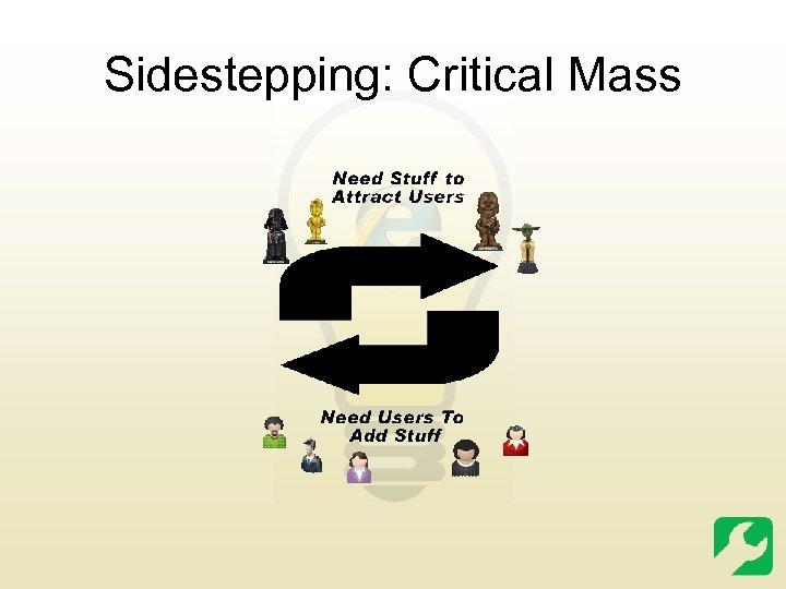 Sidestepping: Critical Mass