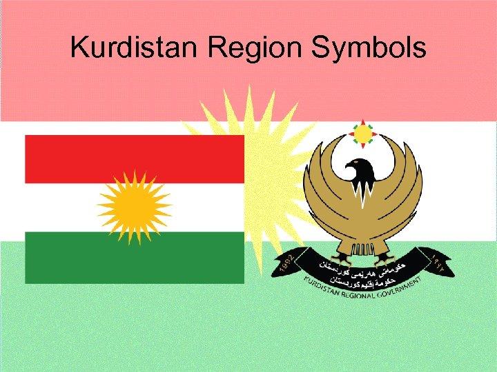 Kurdistan Region Symbols