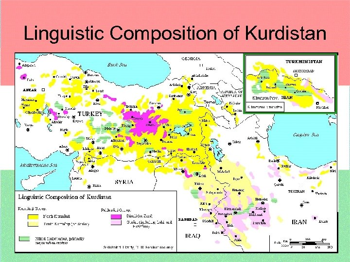 Linguistic Composition of Kurdistan