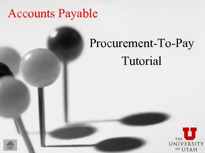 Accounts Payable Procurement-To-Pay Tutorial