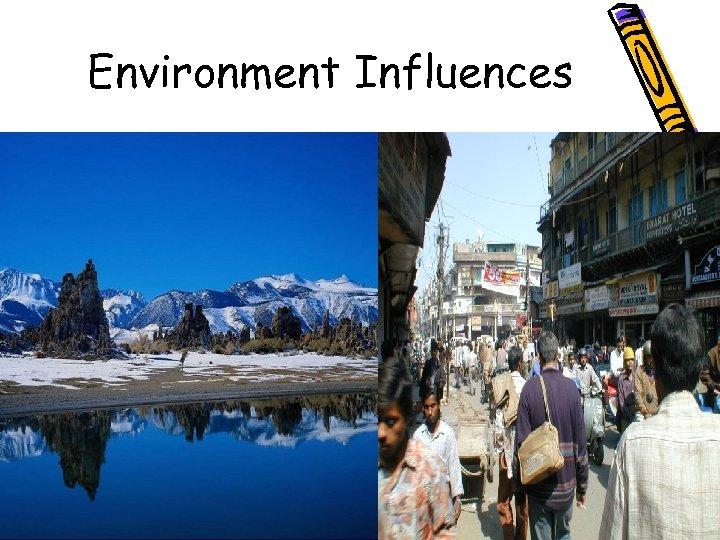 Environment Influences