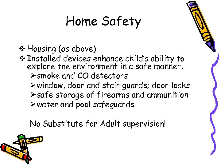 Home Safety v Housing (as above) v Installed devices enhance child's ability to explore