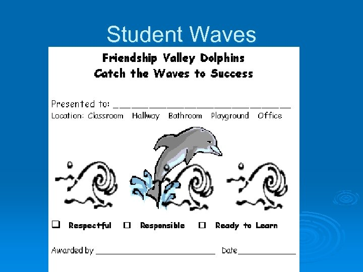 Student Waves