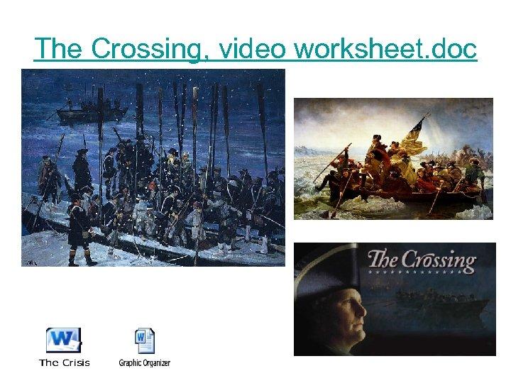 The Crossing, video worksheet. doc