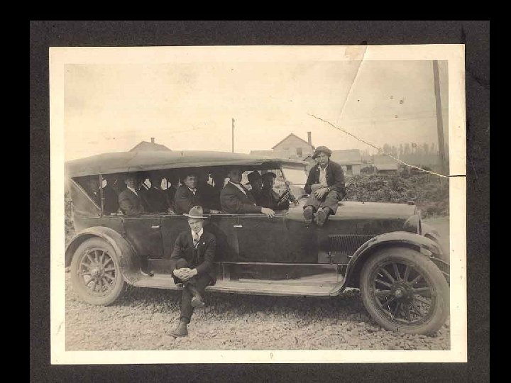 Jack KITTELMAN'S New Stage Yelm To Tacoma – 1919
