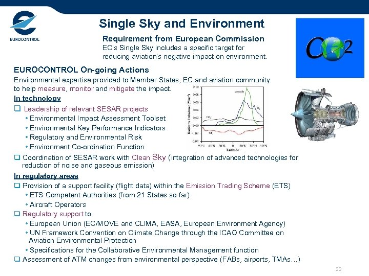 Single Sky and Environment Requirement from European Commission EC's Single Sky includes a specific