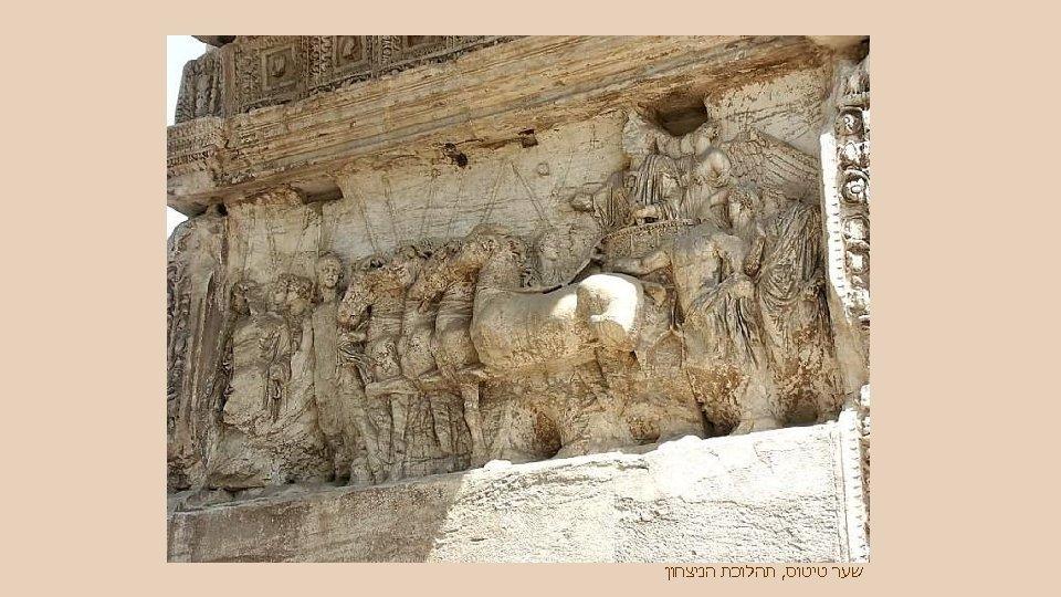 שער טיטוס, תהלוכת הניצחון