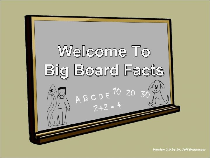 Welcome To Big Board Facts