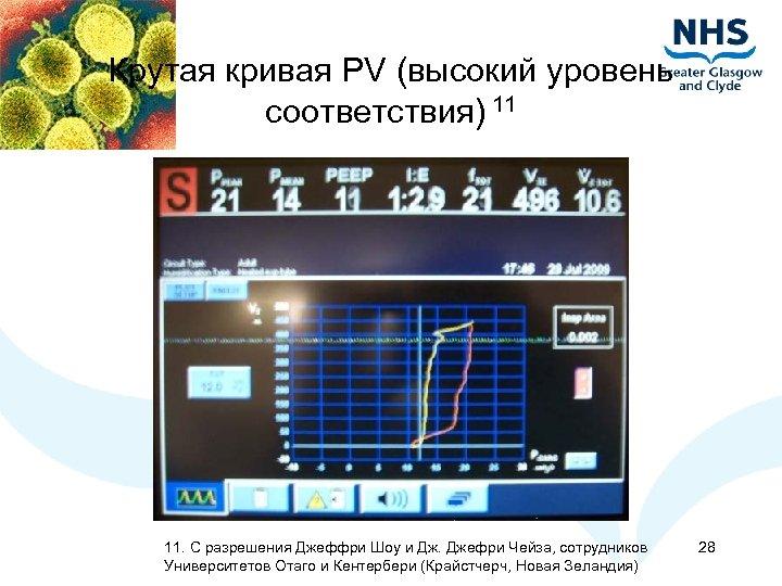 Крутая кривая PV (высокий уровень соответствия) 11 11. С разрешения Джеффри Шоу и Дж.