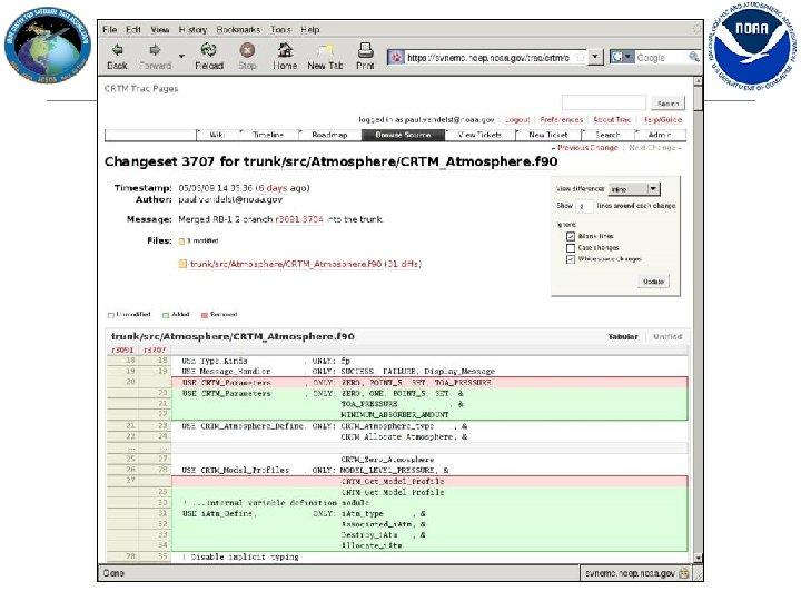 CRTM Browser