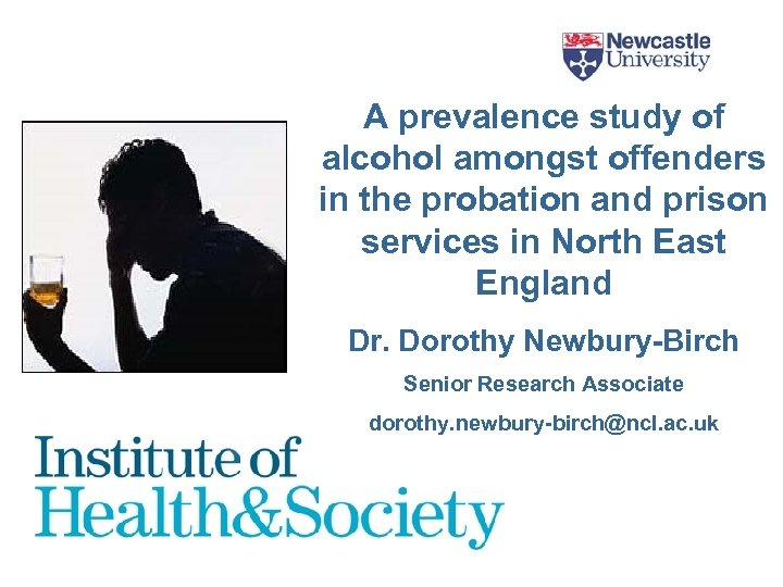 A prevalence study of alcohol amongst offenders in the probation and prison services in