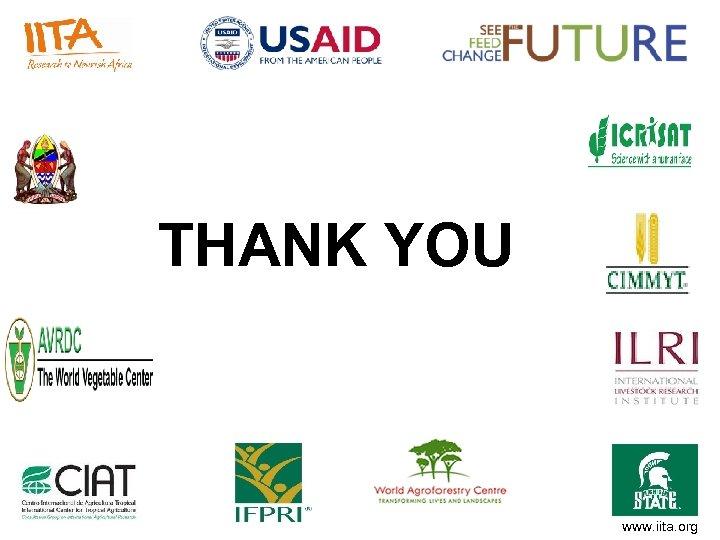 THANK YOU www. iita. org