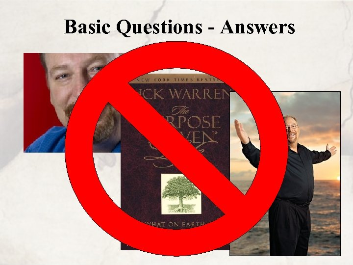Basic Questions - Answers