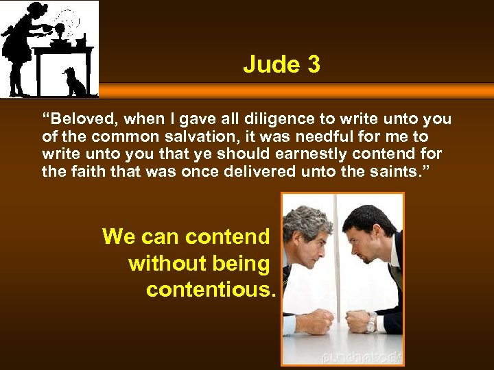 "Jude 3 ""Beloved, when I gave all diligence to write unto you of the"